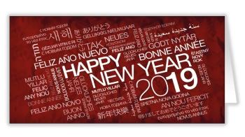 Tous nos meilleurs voeux pour 2019